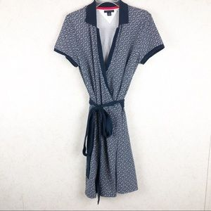 Tommy Hilfiger signature wrap dress